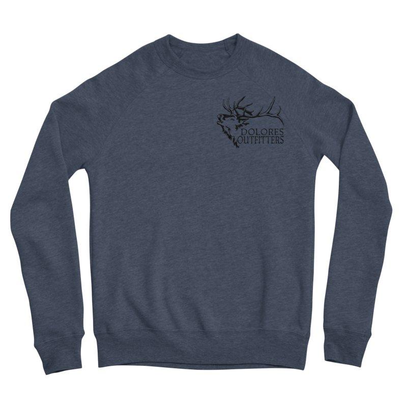 Elk Dolores Outfitters Men's Sponge Fleece Sweatshirt by dolores outfitters's Artist Shop