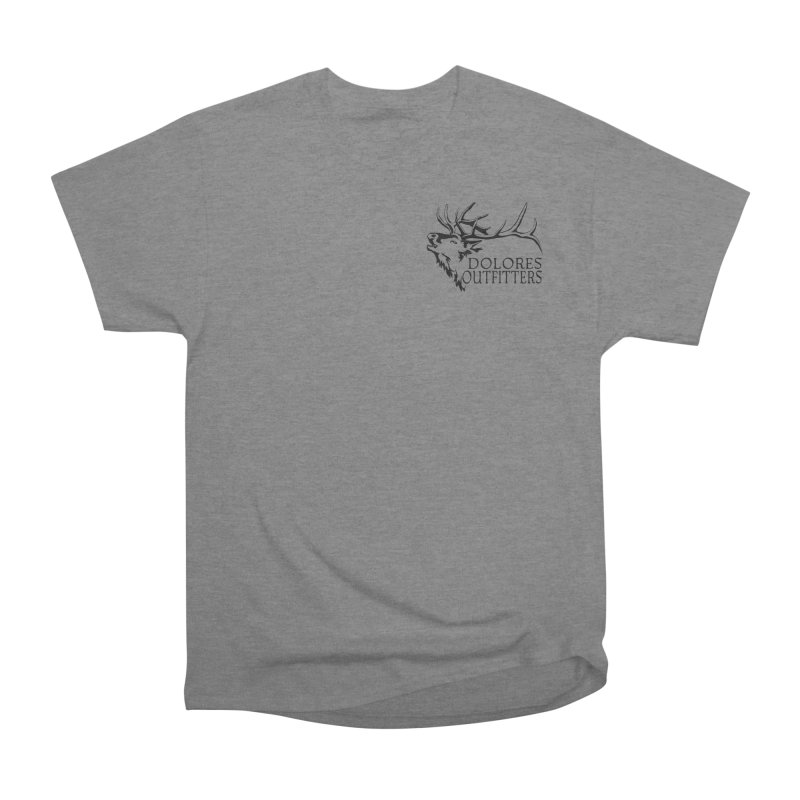 Elk Dolores Outfitters Men's Heavyweight T-Shirt by dolores outfitters's Artist Shop