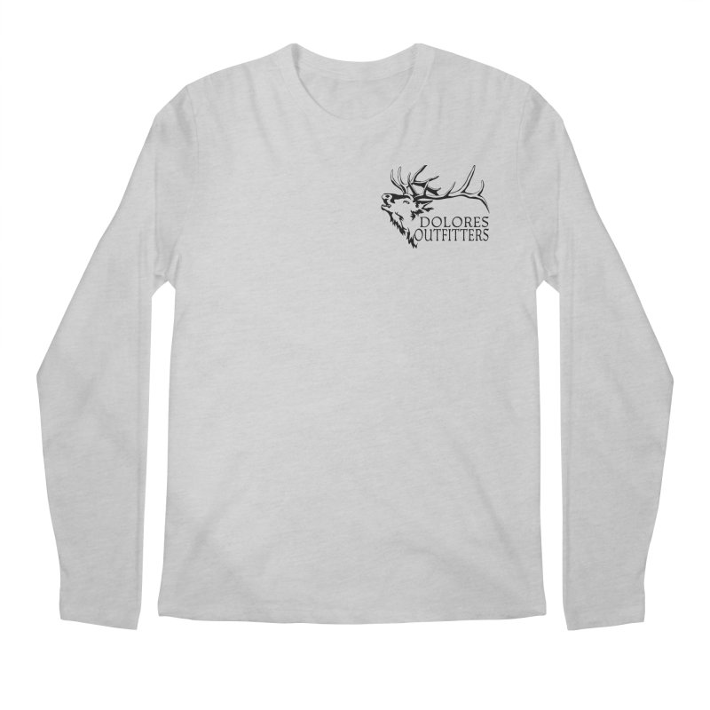 Elk Dolores Outfitters Men's Regular Longsleeve T-Shirt by dolores outfitters's Artist Shop