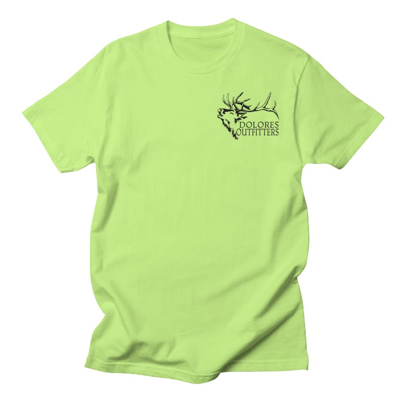 Elk Dolores Outfitters Men's Regular T-Shirt by dolores outfitters's Artist Shop