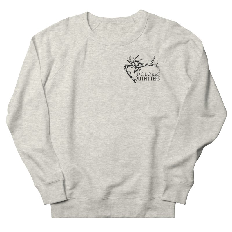 Elk Dolores Outfitters Women's French Terry Sweatshirt by dolores outfitters's Artist Shop