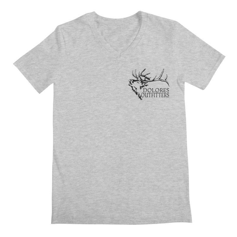 Elk Dolores Outfitters Men's Regular V-Neck by dolores outfitters's Artist Shop