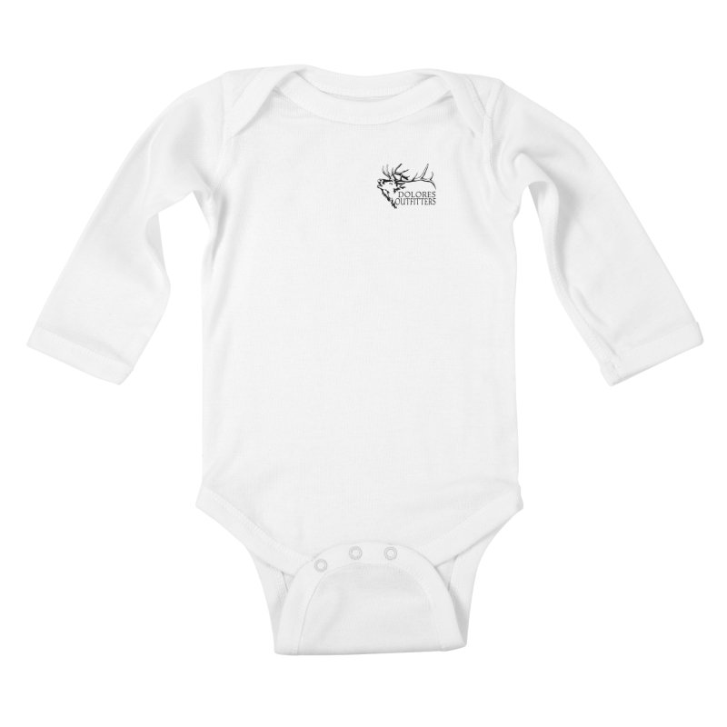 Elk Dolores Outfitters Kids Baby Longsleeve Bodysuit by dolores outfitters's Artist Shop
