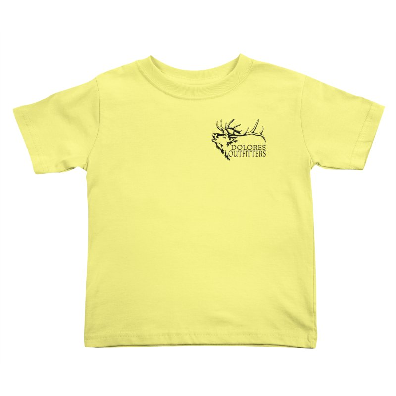Elk Dolores Outfitters Kids Toddler T-Shirt by dolores outfitters's Artist Shop