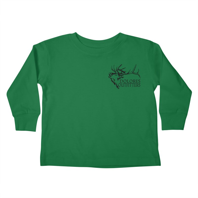 Elk Dolores Outfitters Kids Toddler Longsleeve T-Shirt by dolores outfitters's Artist Shop