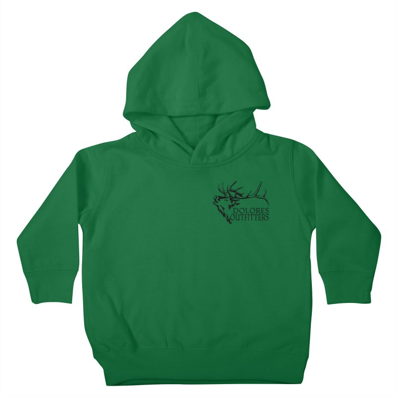 Elk Dolores Outfitters Kids Toddler Pullover Hoody by dolores outfitters's Artist Shop