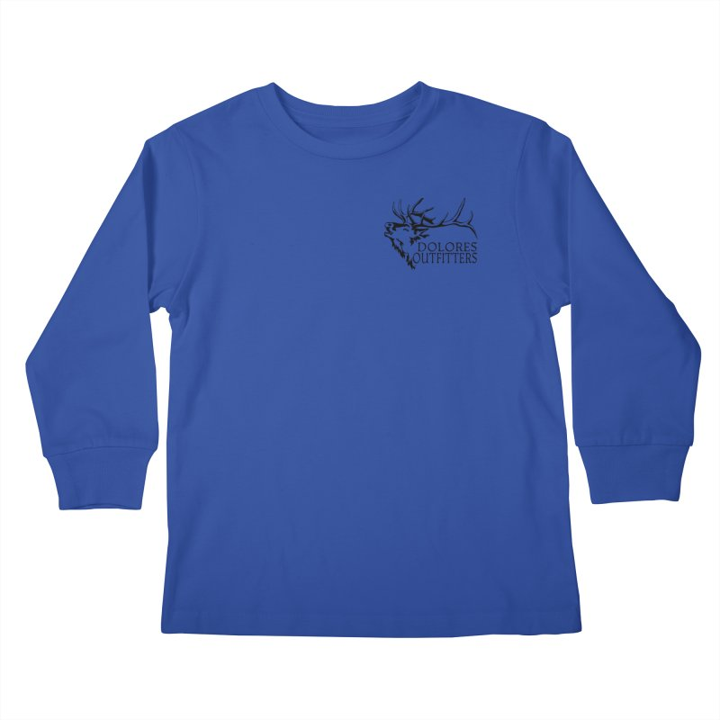 Elk Dolores Outfitters Kids Longsleeve T-Shirt by dolores outfitters's Artist Shop