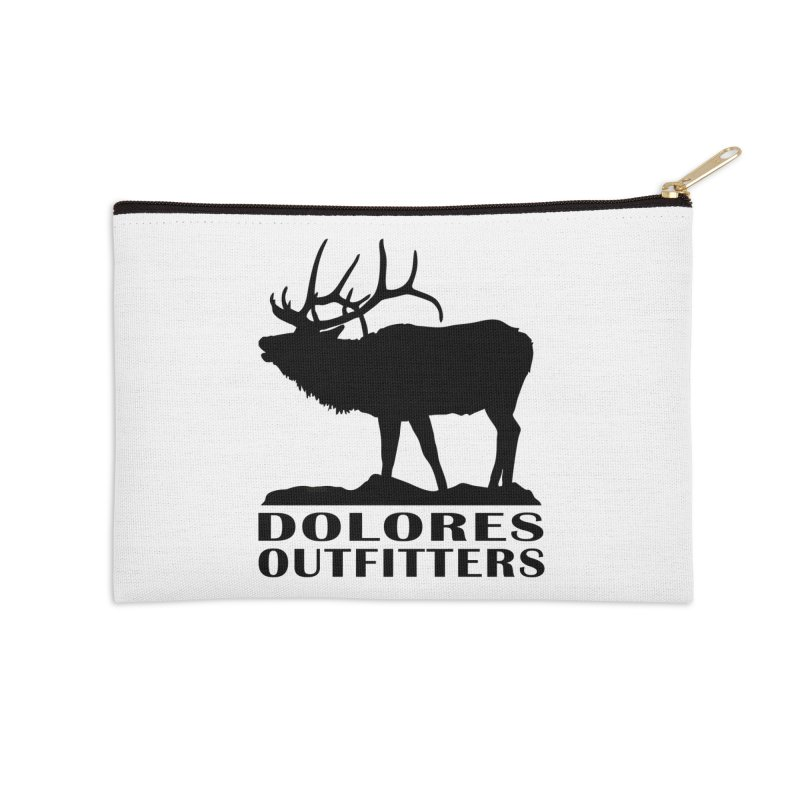 Elk Pocket Design - Black Accessories Zip Pouch by dolores outfitters's Artist Shop