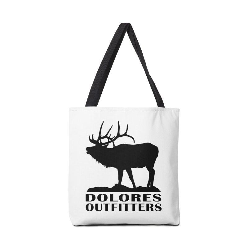 Elk Pocket Design - Black Accessories Bag by dolores outfitters's Artist Shop