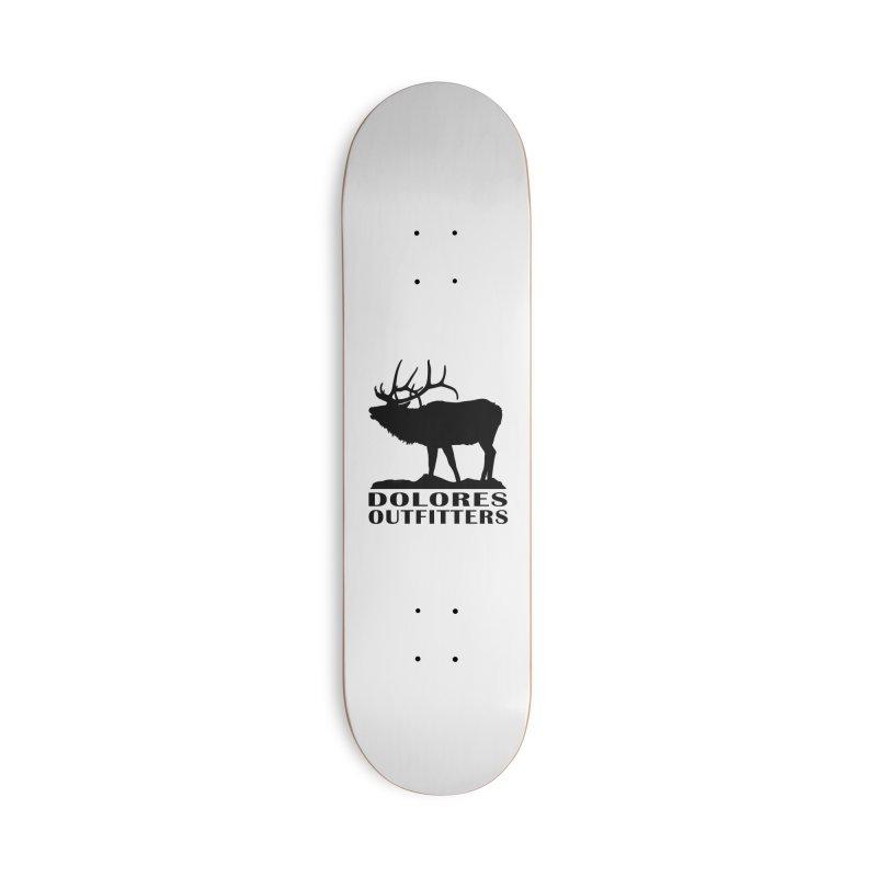Elk Pocket Design - Black Accessories Skateboard by dolores outfitters's Artist Shop