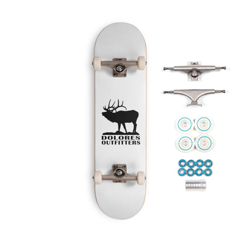 Elk Pocket Design - Black Accessories Complete - Basic Skateboard by dolores outfitters's Artist Shop
