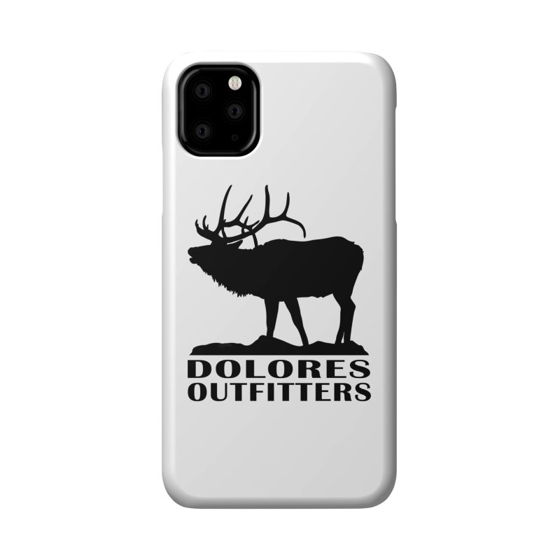 Elk Pocket Design - Black Accessories Phone Case by dolores outfitters's Artist Shop