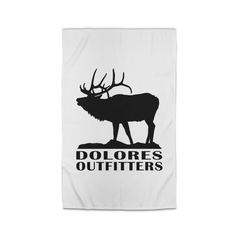 Elk Pocket Design - Black Home Rug by dolores outfitters's Artist Shop