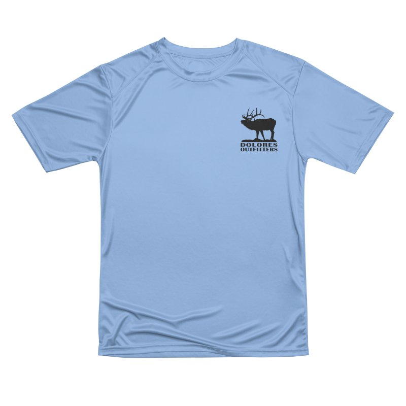 Elk Pocket Design - Black Women's Performance Unisex T-Shirt by dolores outfitters's Artist Shop