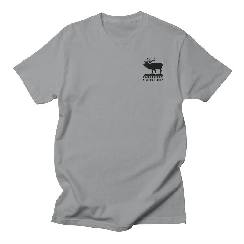 Elk Pocket Design - Black Women's Regular Unisex T-Shirt by dolores outfitters's Artist Shop