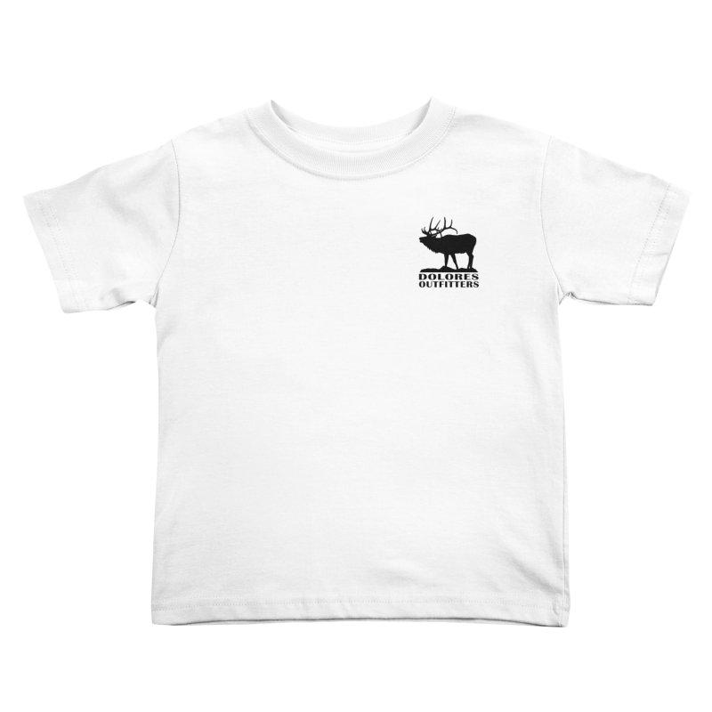 Elk Pocket Design - Black Kids Toddler T-Shirt by dolores outfitters's Artist Shop