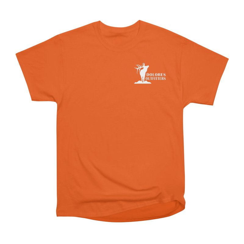 Elk Pocket Design - White Women's T-Shirt by dolores outfitters's Artist Shop