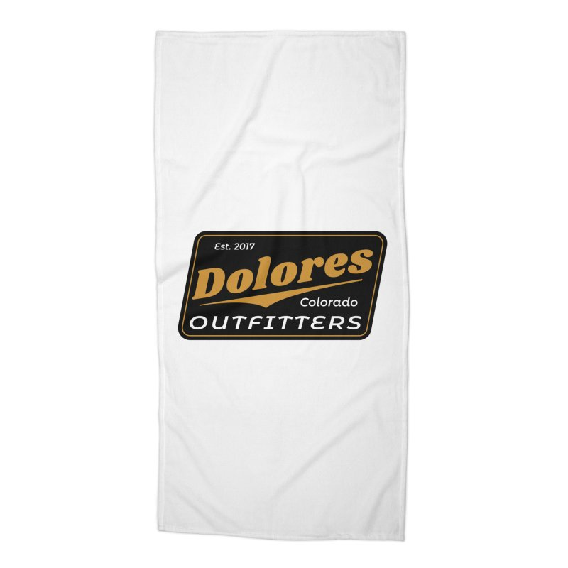 Dolores Outfitters Beer Logo Accessories Beach Towel by dolores outfitters's Artist Shop