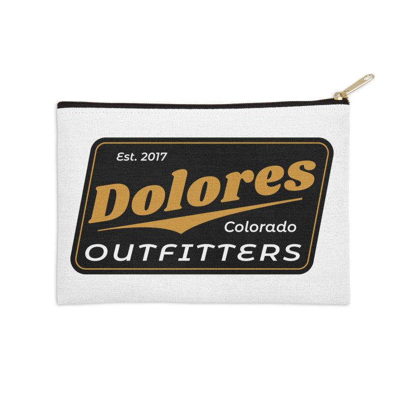 Dolores Outfitters Beer Logo Accessories Zip Pouch by dolores outfitters's Artist Shop