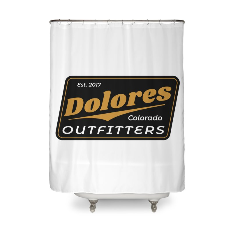 Dolores Outfitters Beer Logo Home Shower Curtain by dolores outfitters's Artist Shop