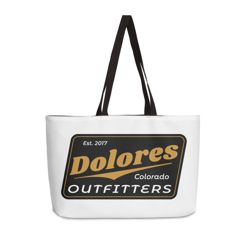 Dolores Outfitters Beer Logo Accessories Weekender Bag Bag by dolores outfitters's Artist Shop
