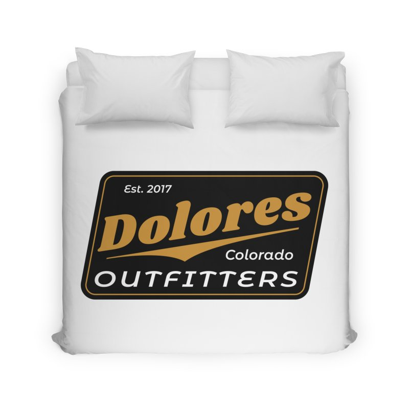 Dolores Outfitters Beer Logo Home Duvet by dolores outfitters's Artist Shop