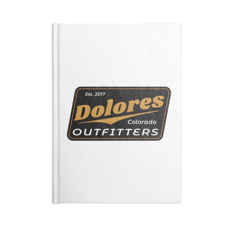 Dolores Outfitters Beer Logo Accessories Blank Journal Notebook by dolores outfitters's Artist Shop