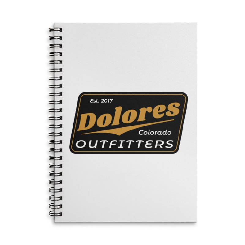 Dolores Outfitters Beer Logo Accessories Lined Spiral Notebook by dolores outfitters's Artist Shop