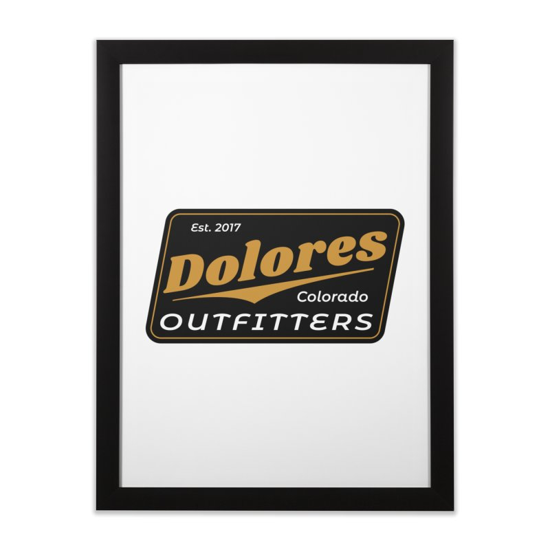 Dolores Outfitters Beer Logo Home Framed Fine Art Print by dolores outfitters's Artist Shop