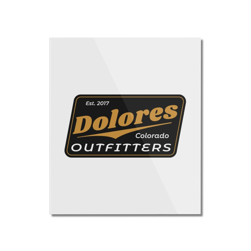 Dolores Outfitters Beer Logo Home Mounted Acrylic Print by dolores outfitters's Artist Shop