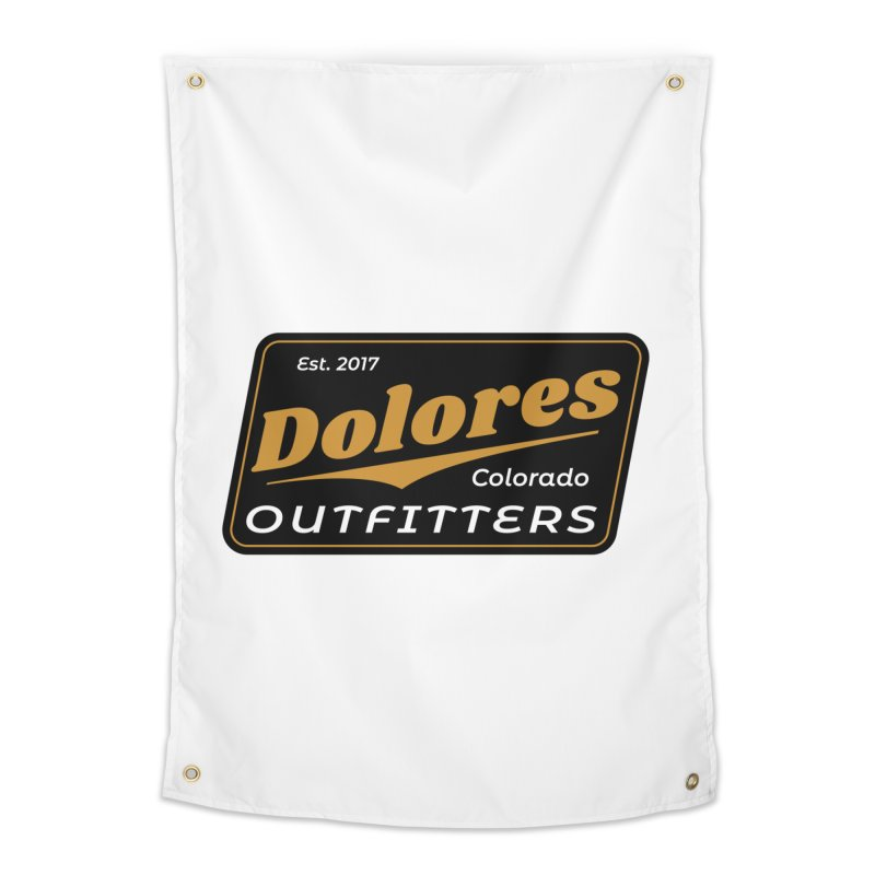 Dolores Outfitters Beer Logo Home Tapestry by dolores outfitters's Artist Shop