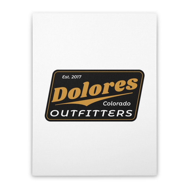 Dolores Outfitters Beer Logo Home Stretched Canvas by dolores outfitters's Artist Shop