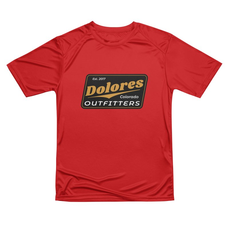 Dolores Outfitters Beer Logo Women's Performance Unisex T-Shirt by dolores outfitters's Artist Shop