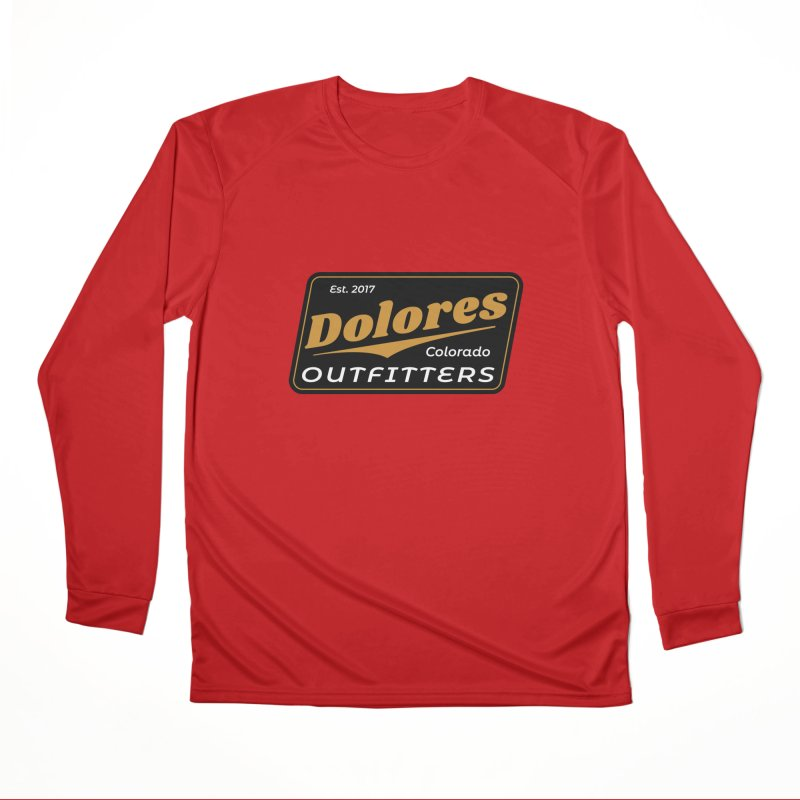 Dolores Outfitters Beer Logo Men's Performance Longsleeve T-Shirt by dolores outfitters's Artist Shop
