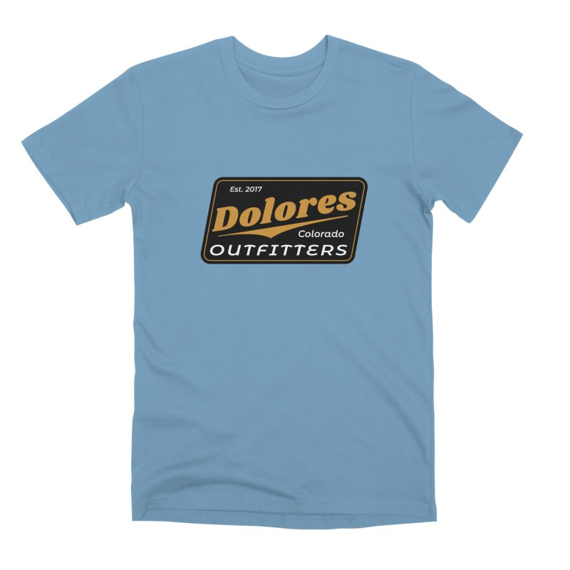 Dolores Outfitters Beer Logo Men's Premium T-Shirt by dolores outfitters's Artist Shop
