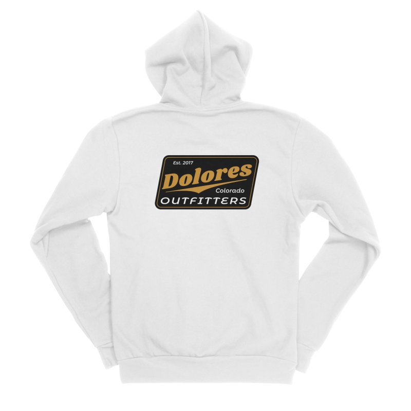Dolores Outfitters Beer Logo Men's Sponge Fleece Zip-Up Hoody by dolores outfitters's Artist Shop