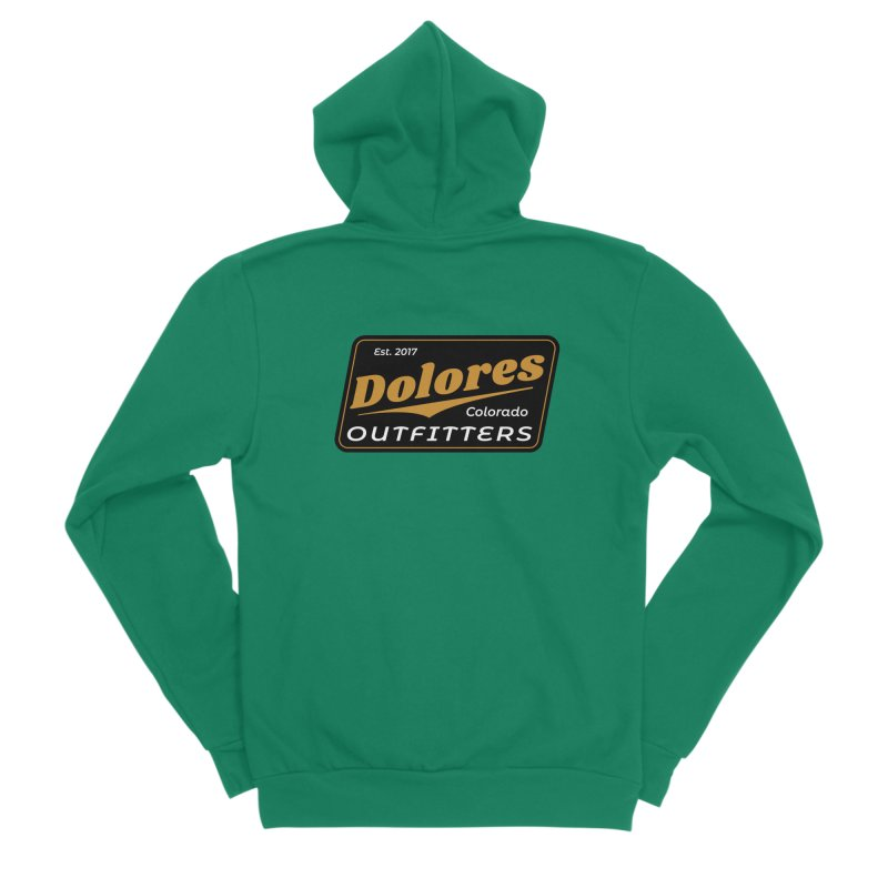 Dolores Outfitters Beer Logo Women's Sponge Fleece Zip-Up Hoody by dolores outfitters's Artist Shop