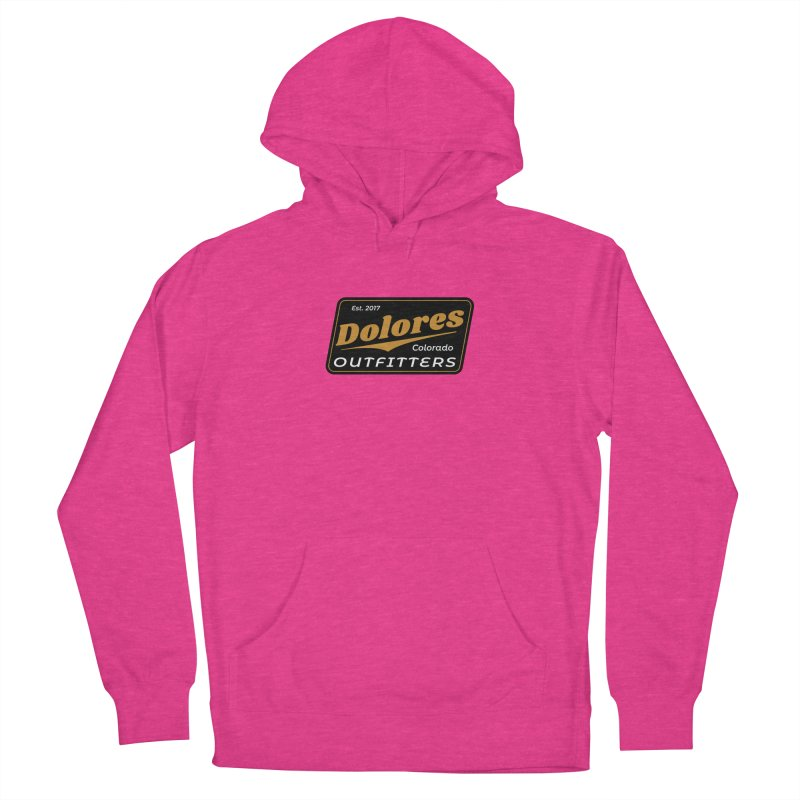 Dolores Outfitters Beer Logo Men's French Terry Pullover Hoody by dolores outfitters's Artist Shop