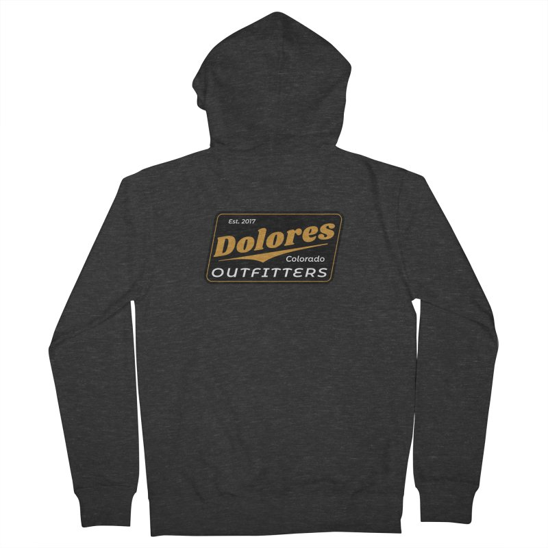 Dolores Outfitters Beer Logo Women's French Terry Zip-Up Hoody by dolores outfitters's Artist Shop