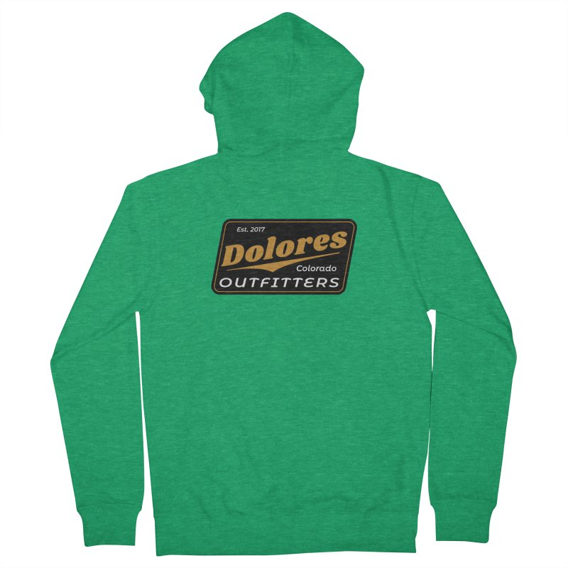 Dolores Outfitters Beer Logo Men's Zip-Up Hoody by dolores outfitters's Artist Shop