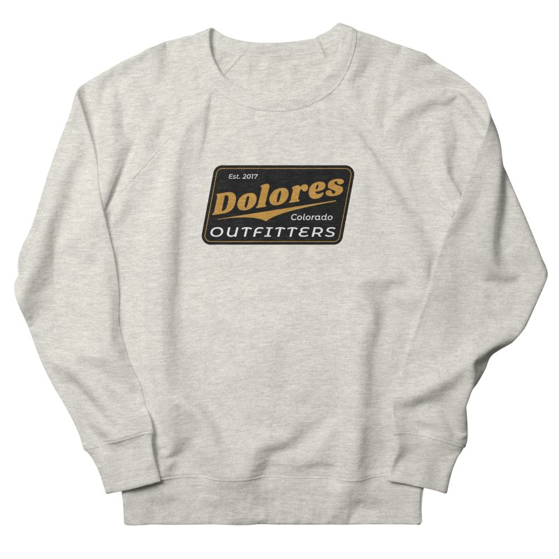 Dolores Outfitters Beer Logo Men's French Terry Sweatshirt by dolores outfitters's Artist Shop
