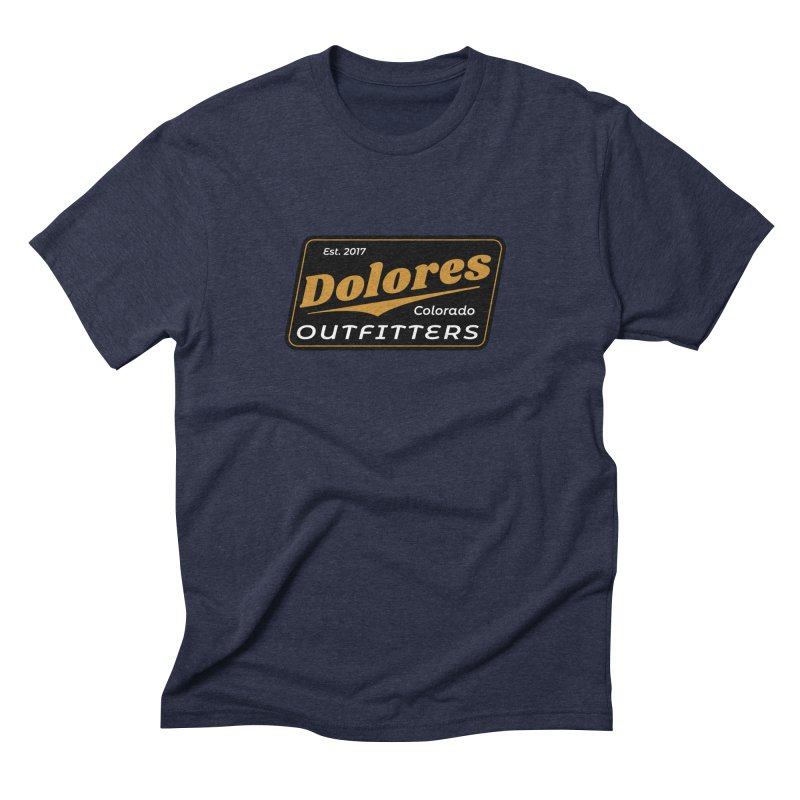 Dolores Outfitters Beer Logo Men's Triblend T-Shirt by dolores outfitters's Artist Shop