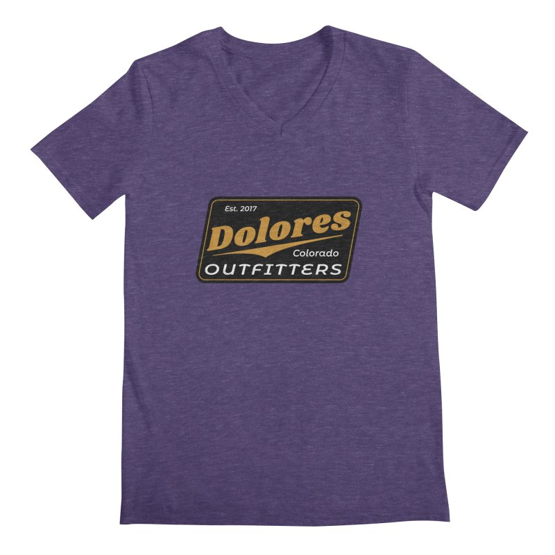 Dolores Outfitters Beer Logo Men's Regular V-Neck by dolores outfitters's Artist Shop