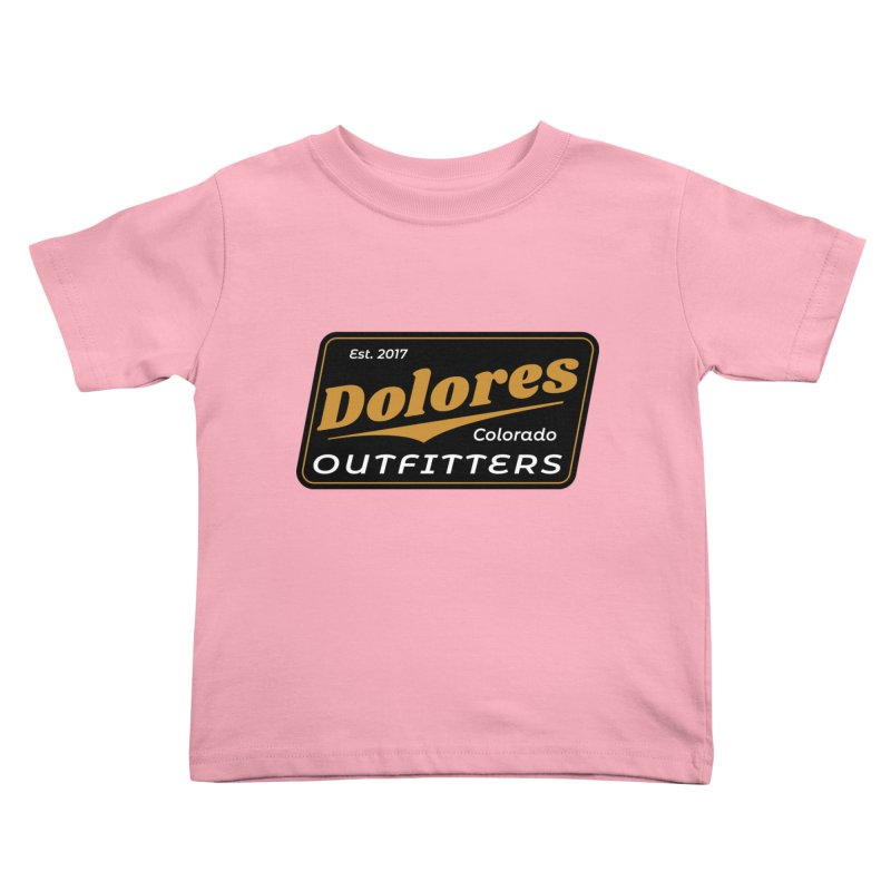 Dolores Outfitters Beer Logo Kids Toddler T-Shirt by dolores outfitters's Artist Shop
