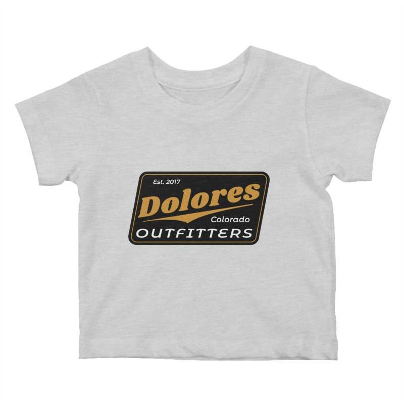 Dolores Outfitters Beer Logo Kids Baby T-Shirt by dolores outfitters's Artist Shop