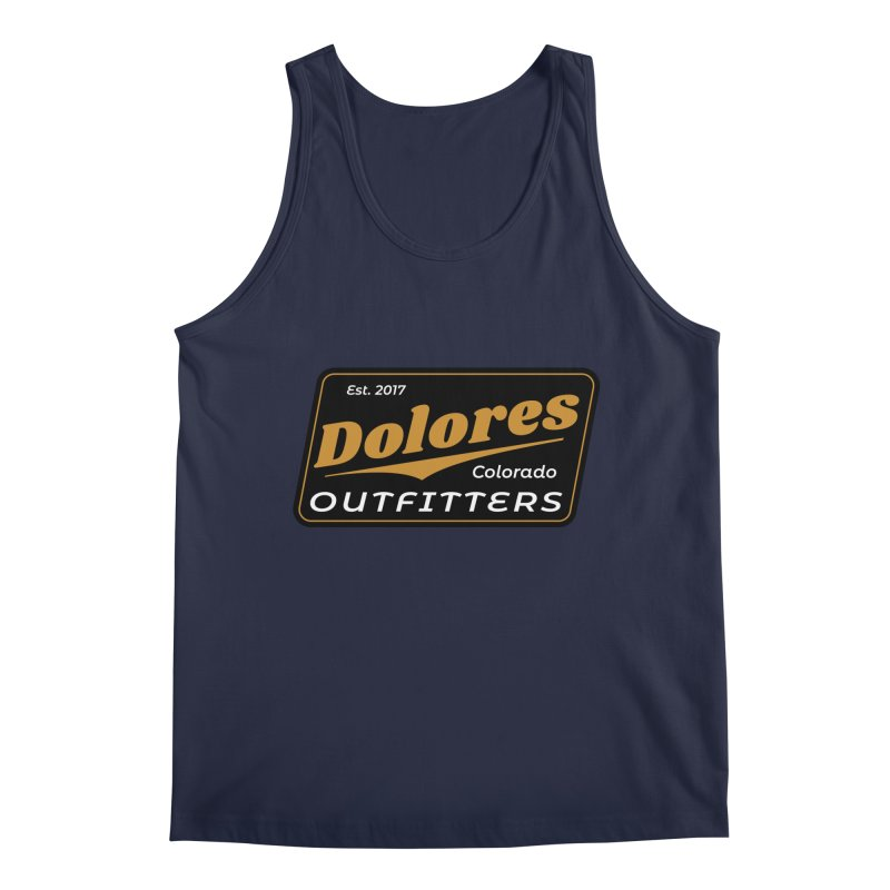 Dolores Outfitters Beer Logo Men's Regular Tank by dolores outfitters's Artist Shop