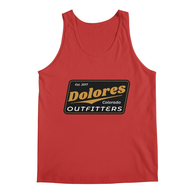 Dolores Outfitters Beer Logo Men's Tank by dolores outfitters's Artist Shop