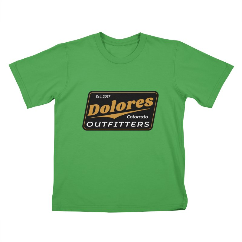 Dolores Outfitters Beer Logo Kids T-Shirt by dolores outfitters's Artist Shop