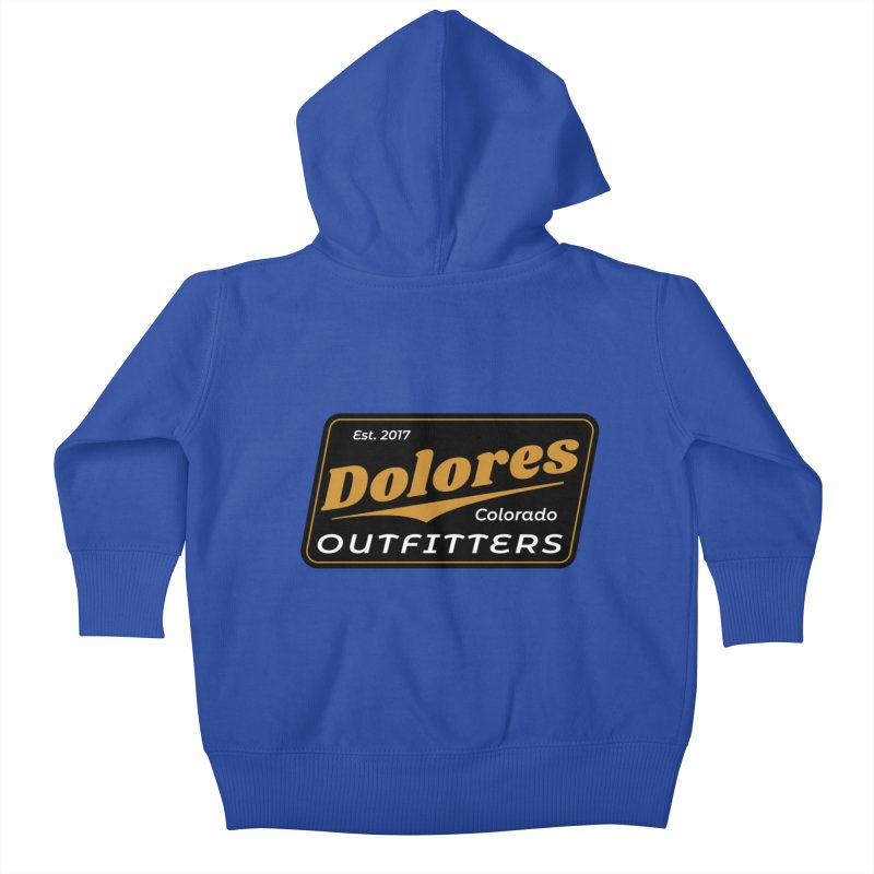 Dolores Outfitters Beer Logo Kids Baby Zip-Up Hoody by dolores outfitters's Artist Shop
