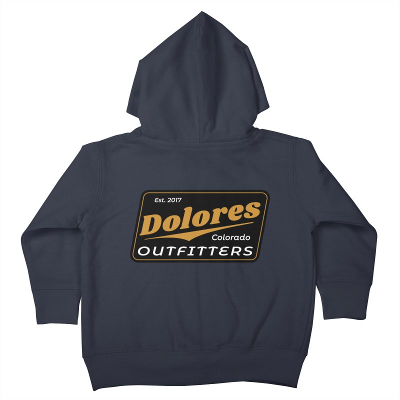 Dolores Outfitters Beer Logo Kids Toddler Zip-Up Hoody by dolores outfitters's Artist Shop